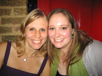 Sarah und ich 2009