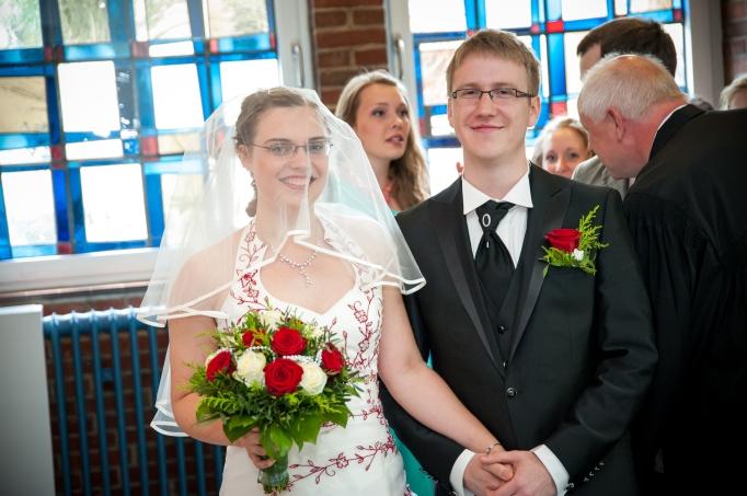 Das rechts ist William. Bei dem Foto muss ich immer noch schniefen. Sehr.